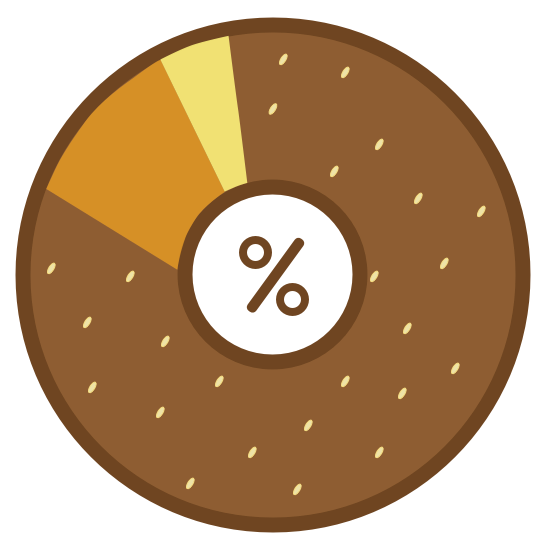 Logo for PollBagel, free poll maker